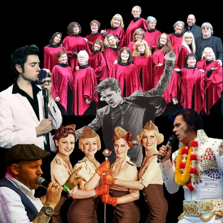 Bild: Our Tribute to Elvis -Finale