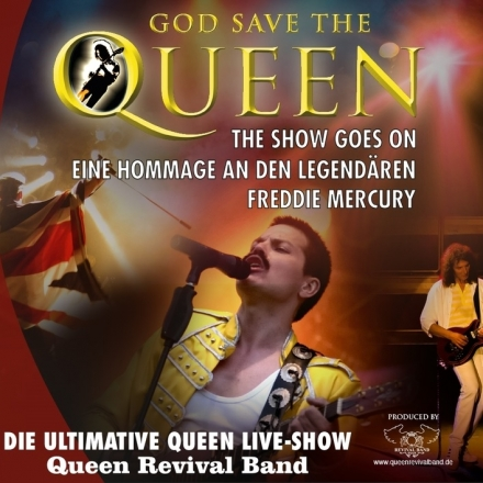 Bild: Queen Revival Band - God save the Queen