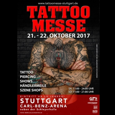 Bild: Tattoo Messe Stuttgart