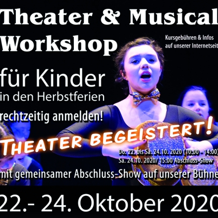 Bild: Theater & Musical Workshop für Kinder - Tina Schöltzke
