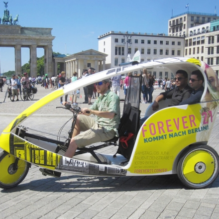 Bild: Velotaxi-Tour - Berlin Highlights