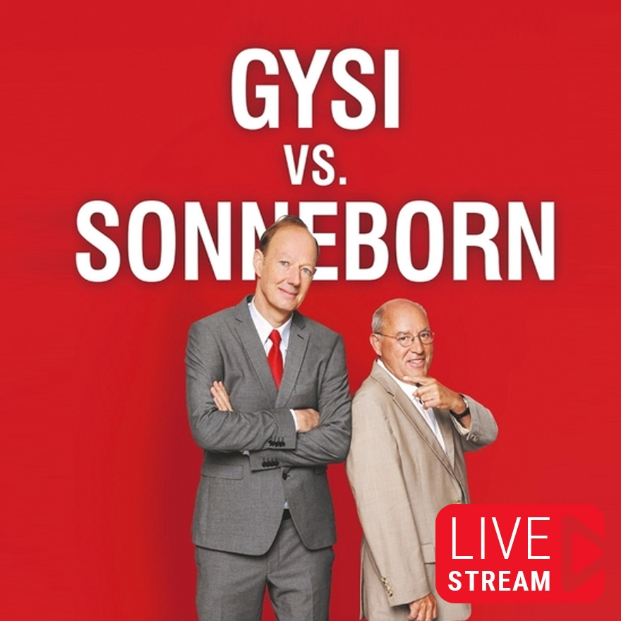 Bild: Gysi vs. Sonneborn - Online Streams