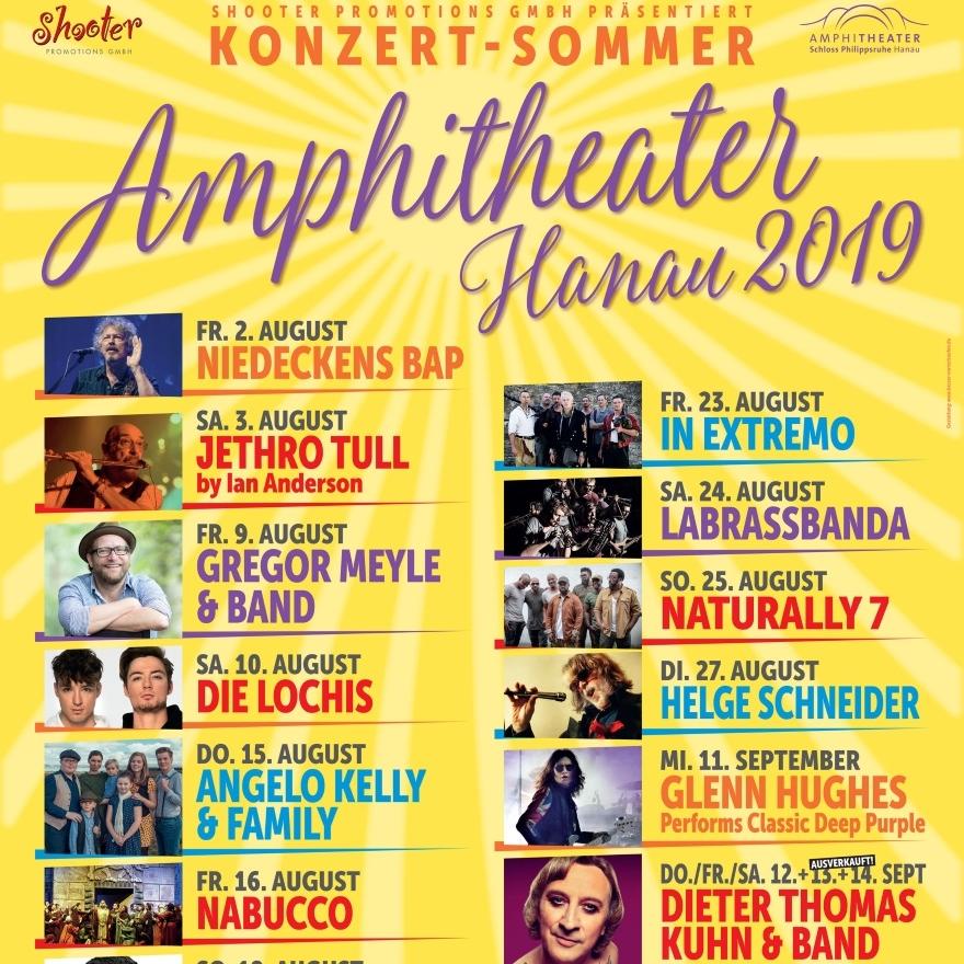 Konzertsommer Amphitheater Hanau Tickets Karten Bei