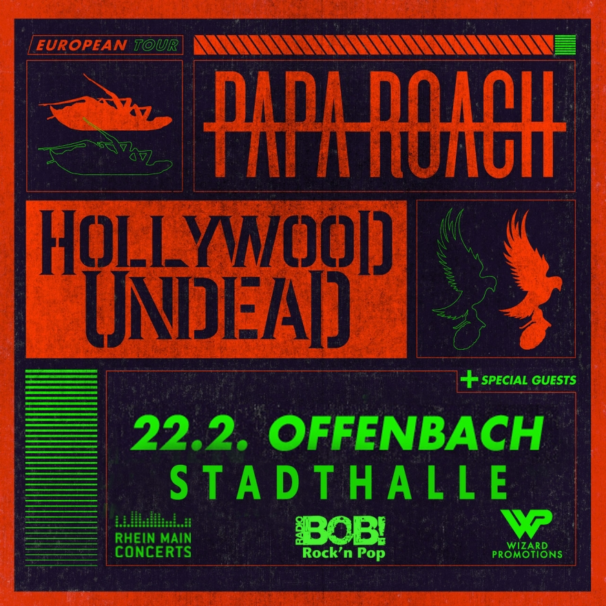 Bild: Papa Roach x Hollywood Undead