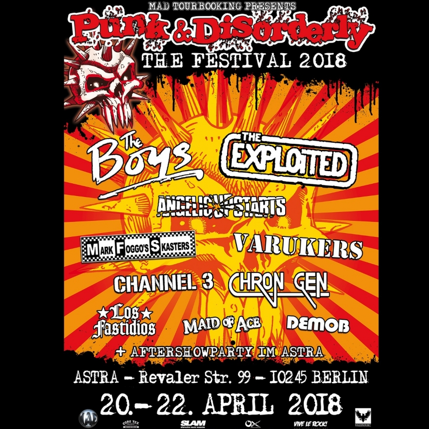 Bild: Punk & Disorderly Festival 2018