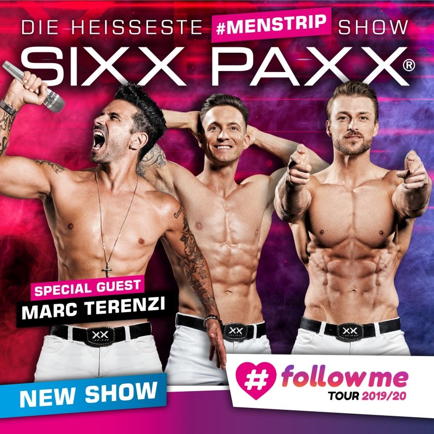 Bild: Sixx Paxx - #followme Tour