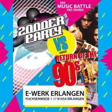 Bild: 90er vs. 2000er Party