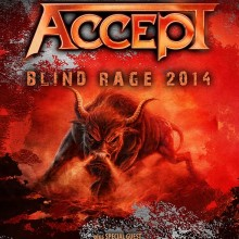 ACCEPT - Blind Rage World Tour 2014/ 2015
