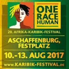 "20. ""one race...human!"" Afrika-Karibik-Festival 2017 - 4-Tages-Ticket in Aschaffenburg, 10.08.2017 - Tickets -"