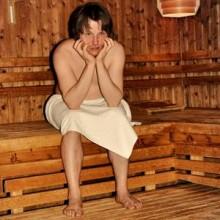 """Allein in der Sauna (F. Pinkus) - Ein heiter-vergnüglicher """"Saunagang"""""""
