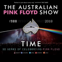13042018 The Australian Pink Floyd Show 2018 Time 30 Years Of