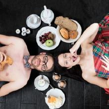 Bleib doch zum Frühstück! - Gegensätze ziehen sich aus :-)