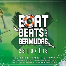 "Boat, Beats & Bermudas - ""Das Partyboot"" - 28. Juli 2018 in Magdeburg, 28.07.2018 - Tickets -"
