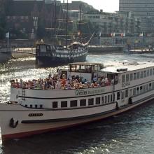 Linienfahrt Bremen - Bremerhaven - und zurück