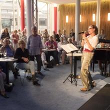 Café Vokal - Mitsingabend mit Kerstin Brix und Yorgos Ziavras