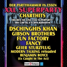 Chart Show - die XXL Superparty in Essen