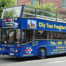Hop-On Hop-Off City Tour - oder - City Tour 1hr Roundtrip - Frankfurt