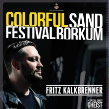 Bild: Colorful Sand Holi Borkum