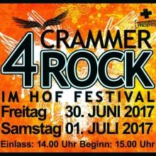 4. Crammer ROCK IM HOF Festival - Aktueller Ablaufplan unter www.rock-im-hof-cramme.de