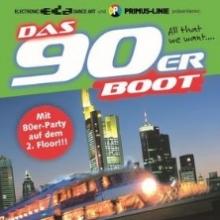 DAS 90erBOOT - Ein Schiff - Zwei Floors - Dein Sonnenuntergang - Deine Party! in Frankfurt am Main, 16.06.2018 - Tickets -