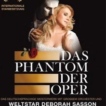 Das Phantom der Oper - Der Musical Erfolg mit dem Weltstar Deborah Sasson und grossem Orchester