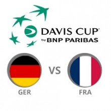 DAVIS CUP - Deutschland vs. Frankreich