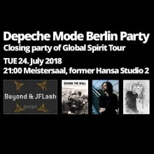 Bild: Depeche Mode Berlin Party