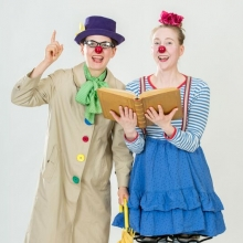 Der Bücherschatz - Clowness Theater