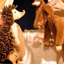 Der Wettlauf von Hase und Igel - Papperlapapp Puppenspiel