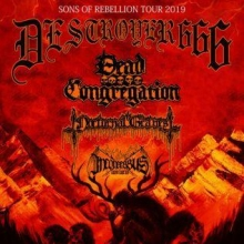 Deströyer 666 - Sons Of Rebellion Tour 2019
