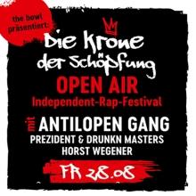 Die Krone der Schöpfung - Open Air Independent-Rap-Festival