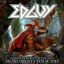 EDGUY - 25 YEARS - THE BEST OF THE BEST  MONUMENTS TOUR 2017