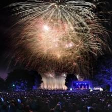 Feuerblumen und Klassik Open Air im Britzer Garten - La Luna - Sonne, Mond und Sterne in Berlin, 25.08.2018 - Tickets -