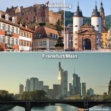 Frankfurt City und Rhein-Tal Kombi-Tour