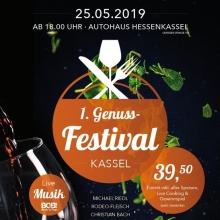 1. Genuss-Festival Kassel - Die Veranstaltung in Kassel voller Genuss und Leidenschaft in Kassel, 25.05.2019 - Tickets -