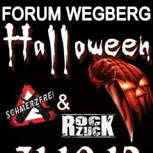 Halloween 12 - mit Schmerzfrei und Rockzuck - Wegberg