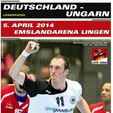 Deutschland vs. Ungarn - Handball-Länderspiel Männer