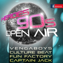 Heroes of the 90s - Open Air in Bremerhaven, 07.09.2018 - Tickets -