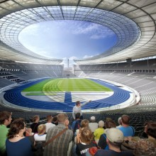 Highlight-Tour (english)  - Olympiastadion Berlin
