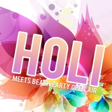 Holi meets Beachparty Open Air