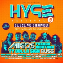 Bild: HYPE Festival - mit Migos, French Montana, Russ uvm presented by SNIPES