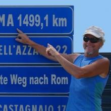 In 44 Tagen zu Fuß von Velden nach Rom - Walter Wärthl