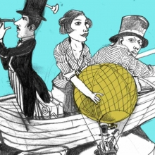 In 80 Tagen um die Welt - Landestheater Detmold