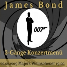 James Bond Konzertmenü
