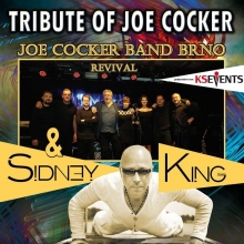 Tribute of Joe Cocker & Sidney King - Joe Cocker Revival Band BRNO