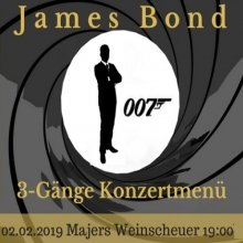 Bild: James Bond Konzertmenü