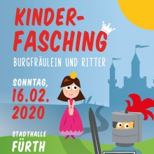 Kinderfasching - Mittelalter - Burgfräulein und Ritter