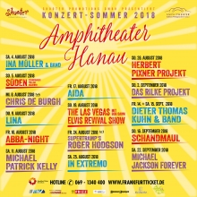 "LINA - ""Fan von Dir"" Open Air 2018 in Hanau, 09.08.2018 - Tickets -"