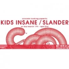 Bild: KIDS INSANE / SLANDER - European Tour 2017