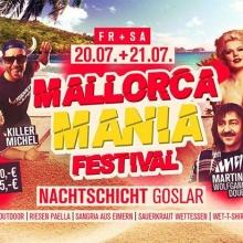 Mallorca Mania Festival - Northeims größte Mallorca Mania Party in Northeim, 09.06.2018 - Tickets -